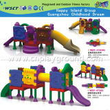 Speelplaats Playsets van de Dia van het Kasteel van kinderen de Volledige Plastic (hd-w-483-10)