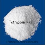 Hidrocloro do Tetracaine da pureza elevada de 99%/HCl do Tetracaine (136-47-0) para o anestésico local
