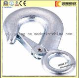 Amo a schiocco di DIN5299d/Carabiner/inarcamento di sicurezza con la vite, acciaio inossidabile, pianura da industria di Pdm