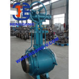 Сваренные DIN/ANSI/JIS промышленные шариковые клапаны Wcb стали углерода