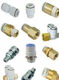 Traversa di rame degli accessori per tubi del capezzolo della pressa dei montaggi adatti d'ottone dell'aria