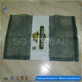 Мешок PP сетчатый с ярлыком для упаковывать померанцы 30kg