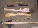 Máquina de madeira do torno vertical da cópia para a alavanca do martelo