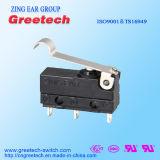 Gedichteter Minimikroschalter der Zing-Ohr-Qualitäts-3A 125/250VAC