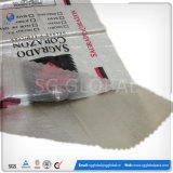 Saco tecido PP do Polypropylene de China usado para o cereal da grão do arroz da farinha da embalagem