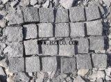 G684 granito, granito nero, pietra del ciottolo, pietra per lastricati, basalto nero