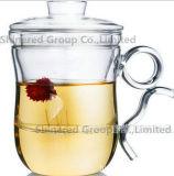 Copo creativo do vidro do presente do copo de vidro bonito creativo do copo do vidro bebendo