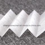 Ткань Nonwoven нити любимчика костяка полиэфира средств фильтра материальная