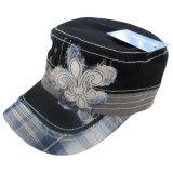 6つのアップリケ(6PWS1330)のパネルによって洗浄される帽子