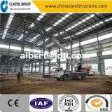 クレーンとのプレハブの鉄骨構造の倉庫または工場または小屋の建築費