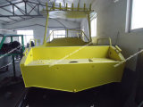 De mooie Vissersboot van de Legering van het Aluminium in Grote Overzees