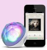 Subwoofer sans fil mobile de haut-parleur de Bluetooth de boule de cristal magique