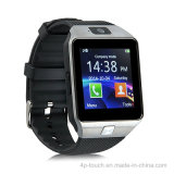 Montre intelligente Bluetooth Bluetooth avec slot pour carte SIM (DZ09)