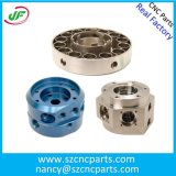 Kundenspezifische Titanfarbe anodisierte Aluminium-CNC-Teile, CNC-Maschinerie-Teile