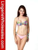 Swimwear stampato floreale del Halter del reticolo del bikini sexy delle signore