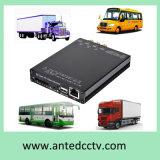 Carte SD élevée de la définition 1080P 4CH 3G/4G/GPS/WiFi DVR mobile pour le degré de sécurité de véhicule