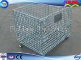 Memoria accatastabile della rete metallica/cestino di collegare (FLM-K-010)
