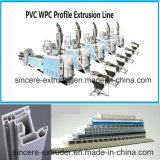 PVC 문 또는 Windows 또는 벽면 단면도 생산 라인