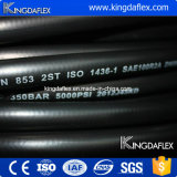 SAE100 R2at machen fertigen hydraulischen Gummischlauch glatt