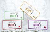 Tè di erbe organico del Detox che dimagrisce il tè di perdita di peso del tè (sapore del mango e della fragola)