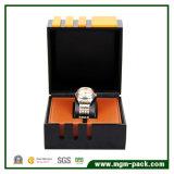Caixa de relógio de empacotamento da parte superior elegante para o negócio