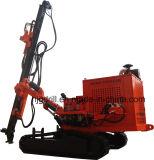 送風穴の掘削装置