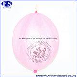 2016 Hot Sale Verschiedene Größe Bunte Latex Lila Durchschlag-Ballon