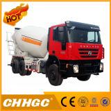 ISO CCC 3 차축 구체 믹서 트럭