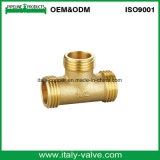Europe Quality Brass Equal Tee / Pipe Fitting (AV-BV-7019)