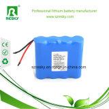 pacchetto della batteria dello Li-ione di 11.1V 4400mAh con il tubo blu per il LED e l'indicatore luminoso Emergency