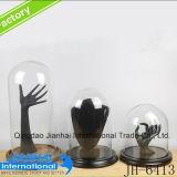 Coperchio di vetro della polvere dei monili della bottiglia di vetro della qualità superiore