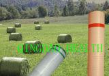 1.23m x 2000m grünes Ballenpreßnetz für Silage