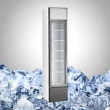 Portello di vetro marcante a caldo frigorifero sottile per la promozione della bevanda