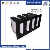 Vバンクの空気のための中型の効率フィルター