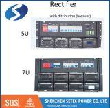 sistema di telecomunicazione del raddrizzatore di 220VAC 48VDC 100A