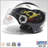 특별한 색깔 디자인 절반 마스크 스쿠터 헬멧 (HF301)