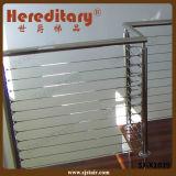 Balaustrada modular ao ar livre do cabo do aço inoxidável para o balcão (SJ-X1038)