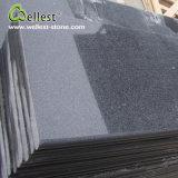 Подгонянные фабрикой плитки пола 600X300 гранита черноты сезама G654 Polished поверхностные