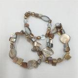 De kleurrijke AcrylReeksen van de Armband met Parels en Glas