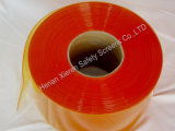 Tenda costolata gialla della striscia del PVC dell'Anti-Insetto