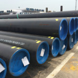 Tubulação sem emenda do transporte T5 do gás do aço de carbono do grande diâmetro