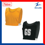 Healong Compression Digital Printing No MOQ A Line Netball Bibs