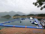 Het Zwembad van de Vlotter van het ponton