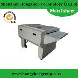 Piezas de encargo de la fabricación de metal de hoja con la superficie de la capa del polvo