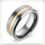 De Ring van de Manier van de Juwelen van de Mensen van de Juwelen van het Staal van het wolfram (SR815)