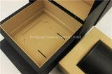 Caixa de empacotamento indicador de couro luxuoso do relógio do plutônio do costume do único
