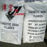 Vente chaude dans des éclailles de bicarbonate de soude caustique d'alcali