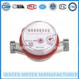 Contador del agua de chorro único para medidor de agua caliente