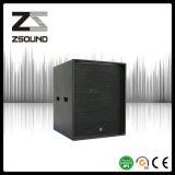 Sistema acustico subsonico dell'altoparlante della mono di 18 pollici di Zsound S18b barra di PA