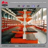 Estantería voladiza del estante del almacén de poca potencia de la estructura de acero